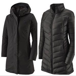 Patagonia Tres 3 in 1 Jackets Black/Black Sz S